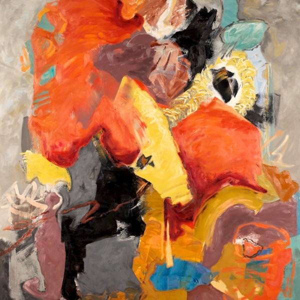 beautiful_world_oil_on_panel_contemporary_artist_barbra_edwards_Pender_Island_BC
