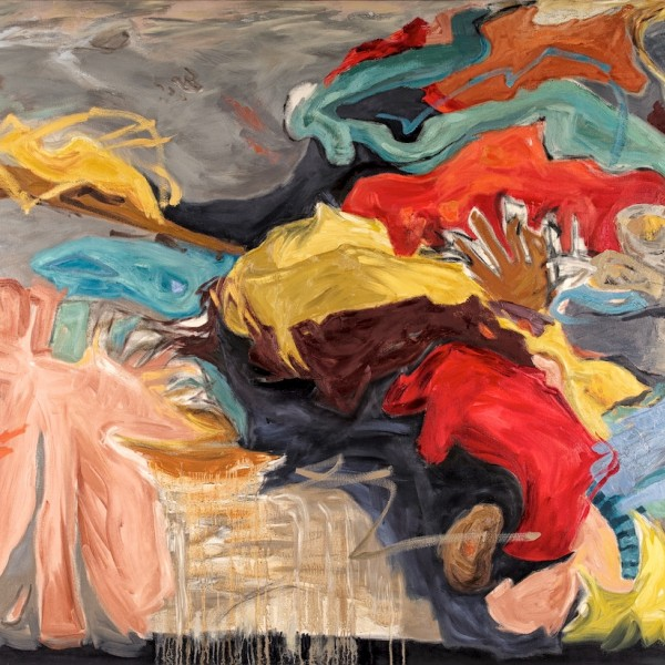 creature_love_oil_on_canvas_contemporary_artist_barbra_edwards_Pender_island_BC