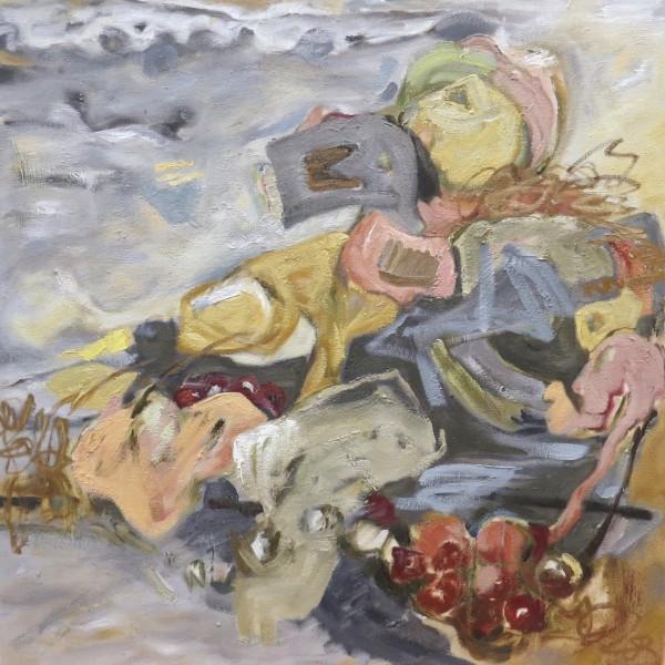 quiet ecstasy by contemporary artist barbra edwards, Pender Island, BC