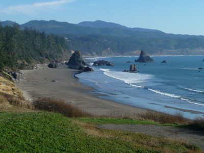 Beaches Oregon by Barbra Edwards