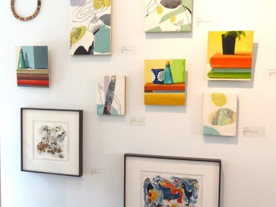 nueseum show is on pod contemporary Salt Spring Island, Canadian artist barbra edwards